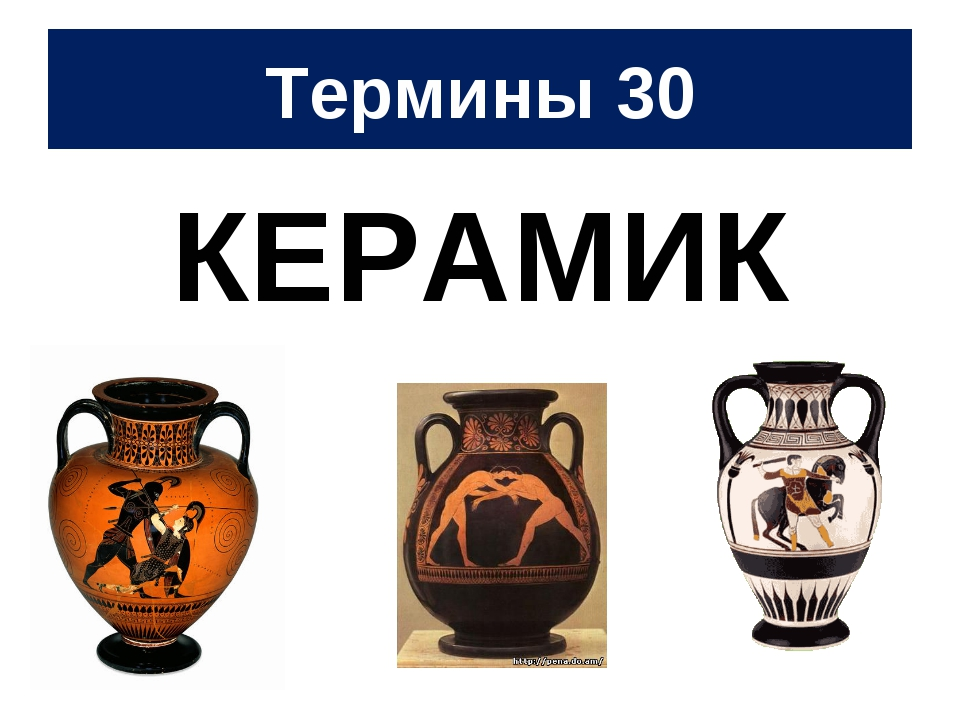 Термины 30 КЕРАМИК