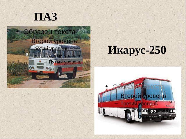 ПАЗ Икарус-250
