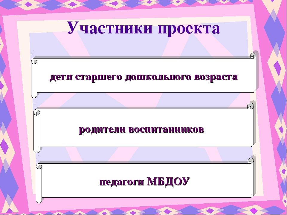 дети старшего дошкольного возраста родители воспитанников педагоги МБДОУ Учас...