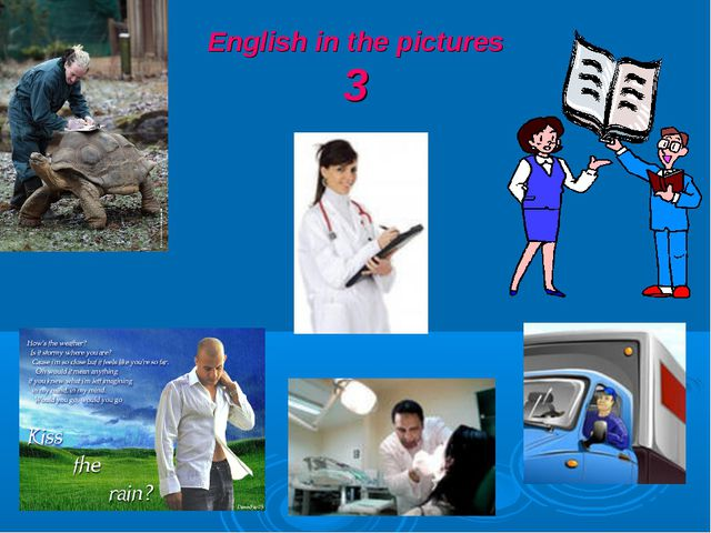 English in the pictures 3