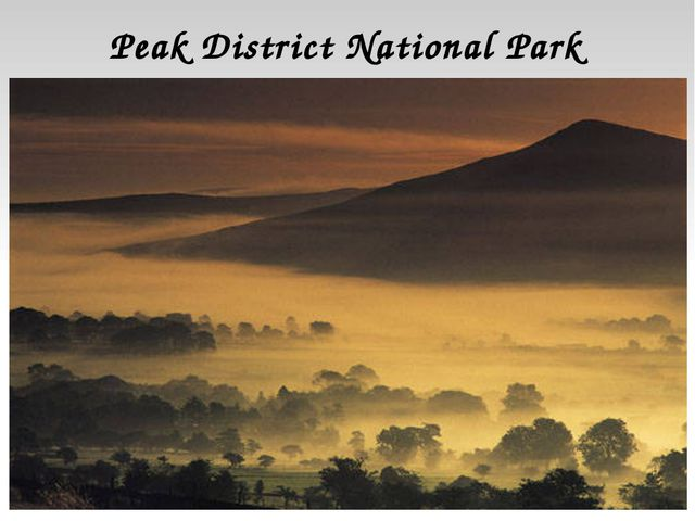 Peak District National Park