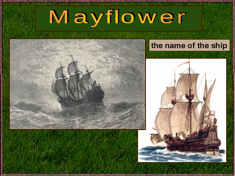 the name of the ship