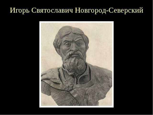 Игорь Святославич Новгород-Северский