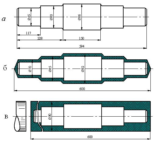 Выбор метода получения заготовок конструируемой детали