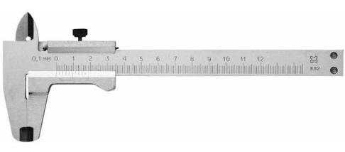Штангенциркули , микрометры - Штангенциркуль металлический 1…