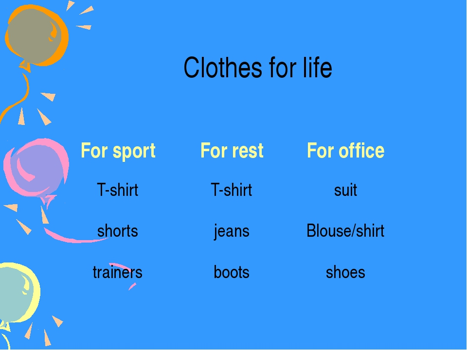 Clothes for life For sport For rest For office T-shirt T-shirt suit shorts je...