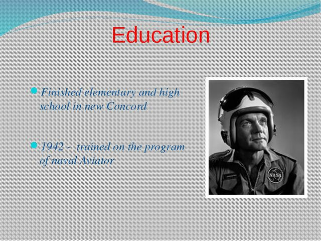 Education Finished elementary and high school in new Concord 1942 - trained o...