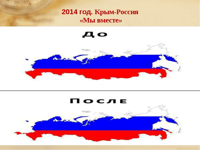 2014 год. Крым-Россия «Мы вместе»