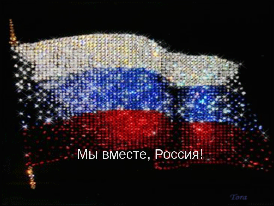 Мы вместе, Россия!
