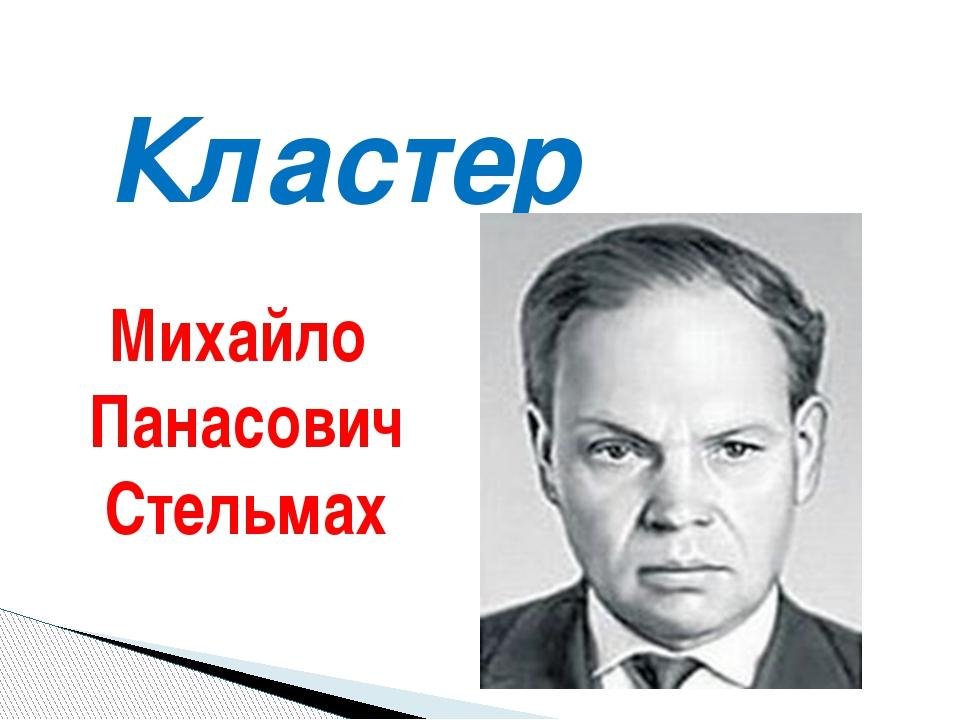 Кластер Михайло Панасович Стельмах