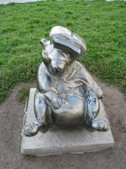 Памятник Сурку в Ангарске