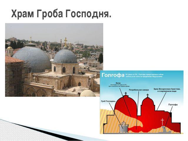 Храм Гроба Господня.