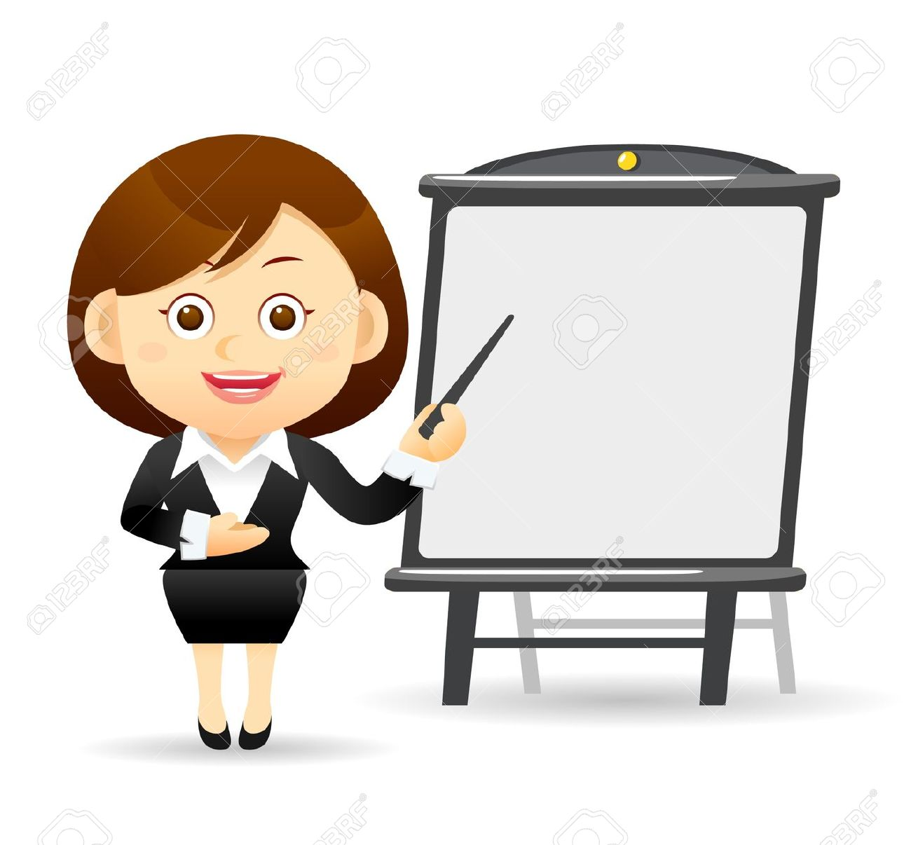 http://previews.123rf.com/images/min6939/min69391110/min6939111000061/10926296-Beautiful-business-woman-with-pointer-and-chart-board--Stock-Vector.jpg