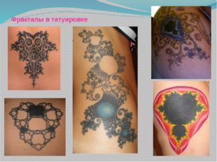 Фракталы в татуировке