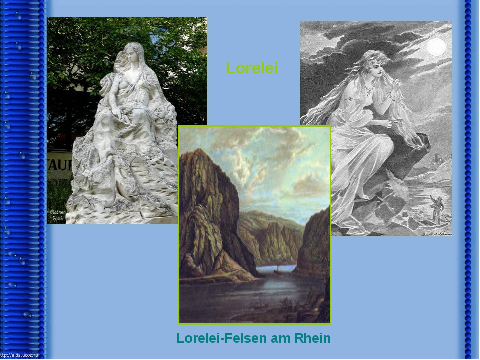 Lorelei Lorelei-Felsen am Rhein