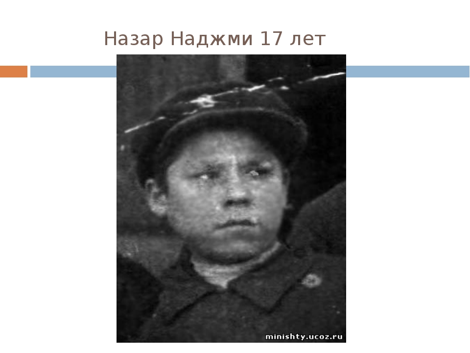 Назар Наджми 17 лет