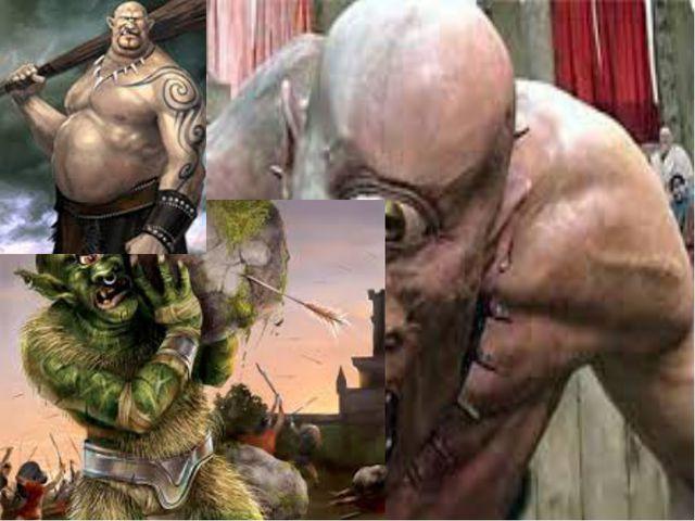 Кроме титанов, породила могучая Земля трех великанов - циклопов с одним глазо...