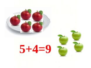 5+4=9