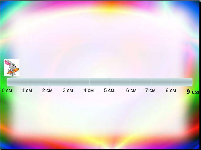 0 см 1 см 7 см 2 см 3 см 4 см 5 см 6 см 8 см 9 см