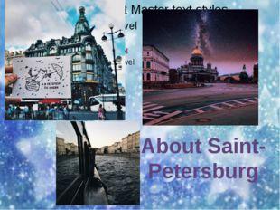 About Saint-Petersburg