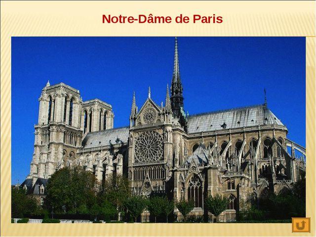 Notre-Dâme de Paris