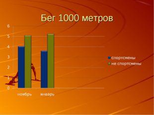 Бег 1000 метров