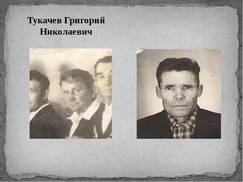Тукачев Григорий Николаевич Гордеев Степан Никитьевич