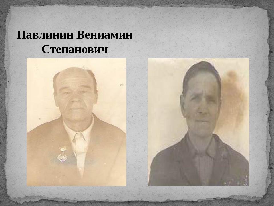 Павлинин Вениамин Степанович Катаев Дмитрий Петрович