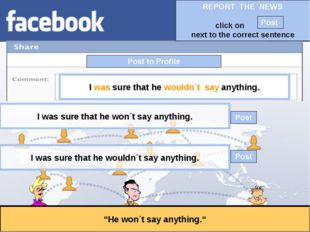 """Post to Profile """"He won´t say anything."""" I was sure that he wouldn´t say anyt"""