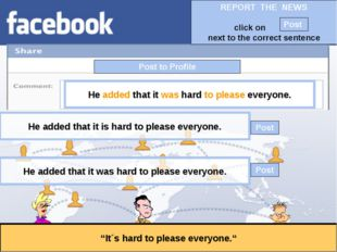 """Post to Profile """"It´s hard to please everyone."""" He added that it was hard to"""