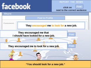 """Post to Profile """"You should look for a new job."""" They encouraged me to look f"""