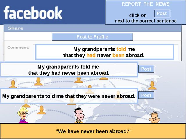 """Post to Profile """"We have never been abroad."""" My grandparents told me that the..."""