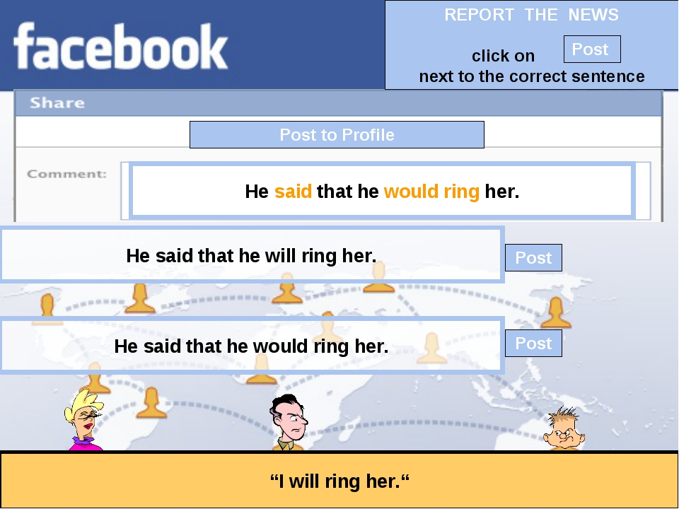 """Post to Profile """"I will ring her."""" He said that he would ring her. He said th..."""
