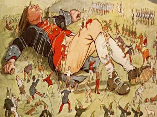 the satire in lilliput in jonathan swifts gullivers travels