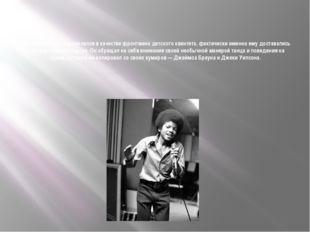 Постепенно Майкл выделился в качестве фронтмена детского квинтета, фактически