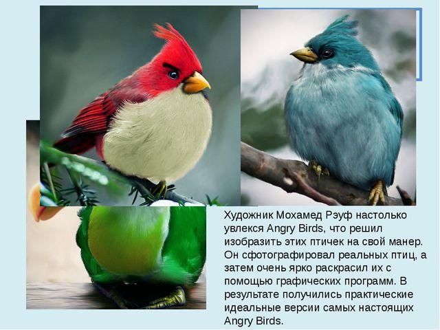 1 конкурс. Разминка Узнайте по фотографии название птицы Художник Мохамед Рэу...