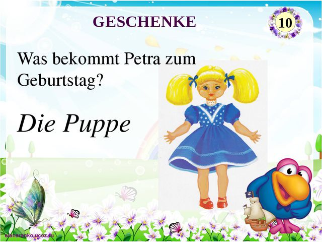 Die Puppe Was bekommt Petra zum Geburtstag? GESCHENKE 10