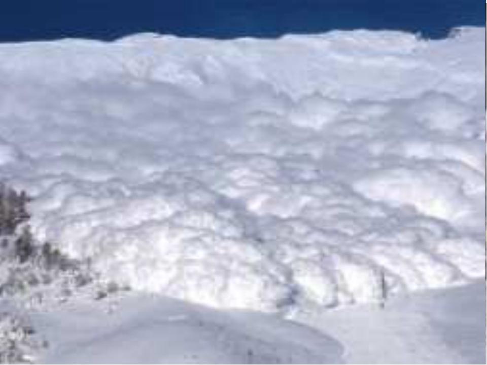 СНЕГ – ОПАСНОСТЬ? ДА! Чем опасен снег? Лавины Снежные карнизы и надувы Образ...