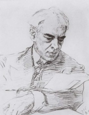 Портрет К.С.Станиславского. 1908 - Серов Валентин Александрович