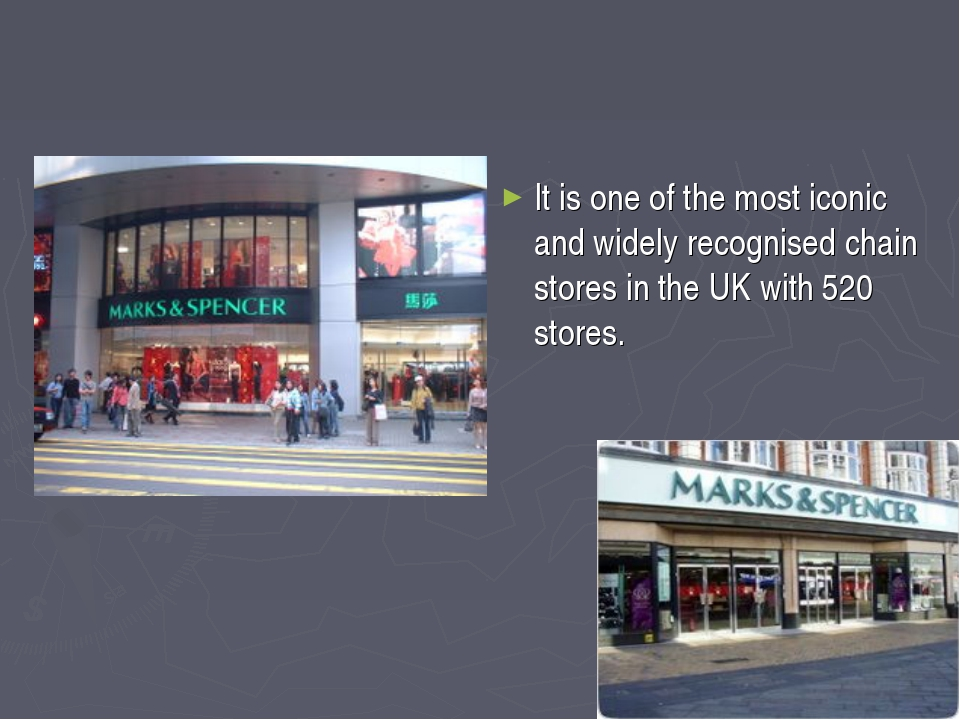 It is one of the most iconic and widely recognised chain stores in the UK wi...