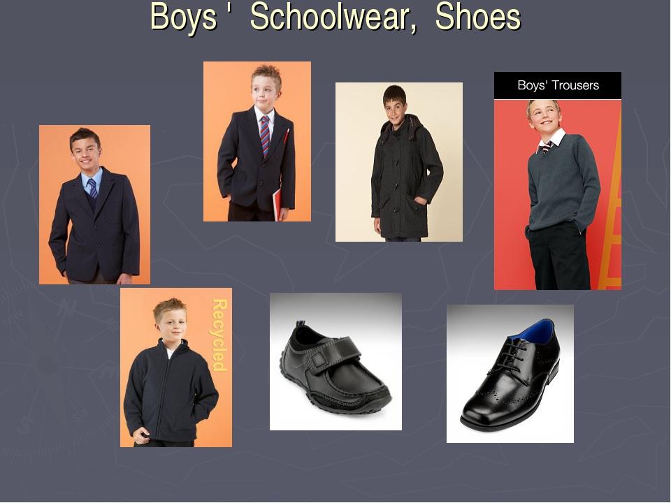 Boys ' Schoolwear, Shoes