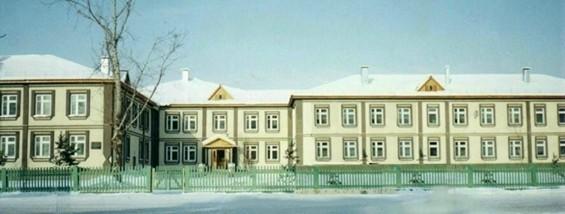 Новое здание школы