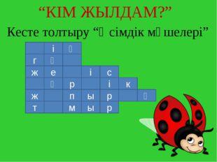 """Кесте толтыру """"Өсімдік мүшелері"""" і ң г ү с і е ж к і р ү қ р ы п ж р ы м т """"К"""