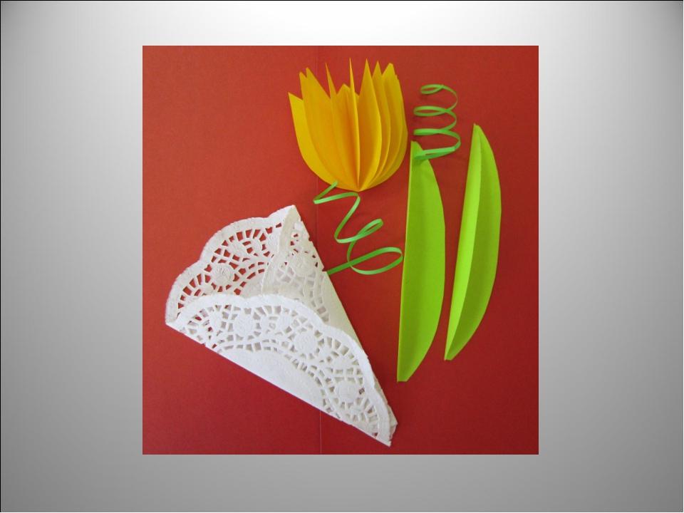 открытка на 8 марта своими руками цветы из салфетки тебя все пришли