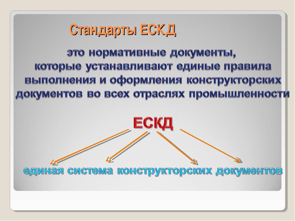 Стандарты ЕСКД