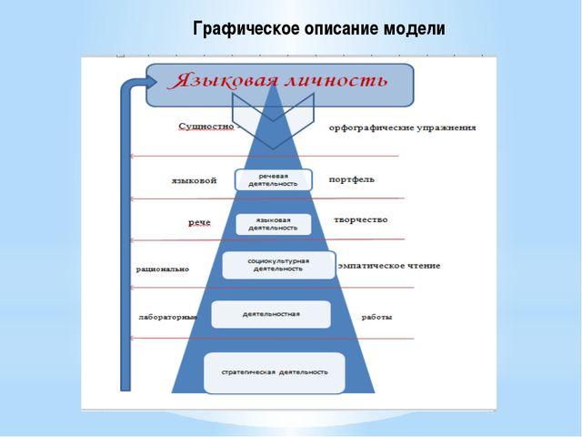Графическое описание модели