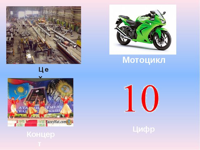 Цех Мотоцикл Концерт Цифр
