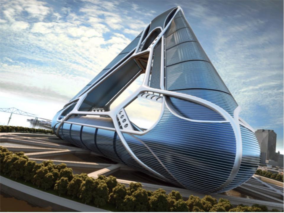 Картинка архитектура будущего