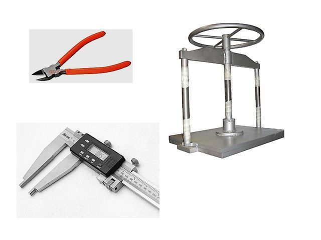 Инструменты бывают разного назначения: режущие, давящие, измерительные и т. д.