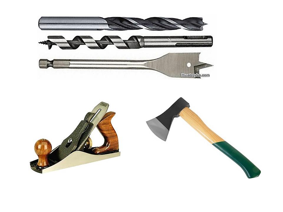 Особенно много среди инструментов режущих. Чтобы резать, нужно движение - либ...